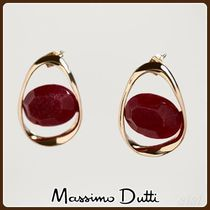 MassimoDutti♪STONE AND HOOP EARRINGS