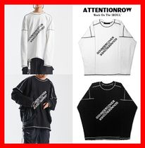 ATTENTIONROW(アテンションロー) スウェット・トレーナー 人気【ATTENTIONROW】★GOUNDERCOVER OVERFIT VINTAGE MTM★2色
