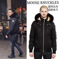MOOSE KNUCKLES(ムースナックルズ) ダウンジャケット MOOSE KNUCKLES レアなゴールドプレート!COMEAU BOMBER