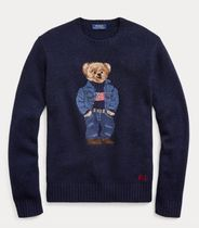 新作!★送料関税込★ Polo Bear Wool Sweater