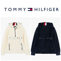 Tommy Hilfiger★ロゴハーフジップアップパーカー*TMMS4KOE40A0