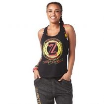 ★国内発送★ ズンバ Zumba Happiness Hustler Tank Bold Black
