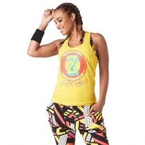 ★国内発送★ ズンバ Zumba Happiness Hustler Tank Sunrays