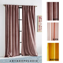 【Anthropologie】 ベルベットカーテン/Velvet Louise Curtain