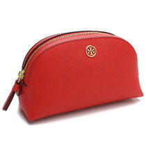 【国内即発】TORY BURCH ポーチ 52701 BRILLIANT RED