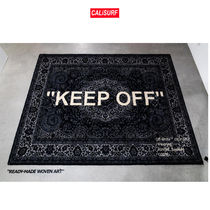 【大人気】 Off-White x Ikea Keep Off Rug Black/White