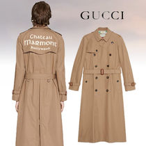 19Cruise 最新!【GUCCI】Chateau Marmont トレンチコート