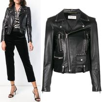 18-19AW WSL1324 STUDDED MOTORCYCLE JACKET