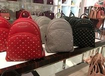 【Michael Kors】新作☆スタッズ付きABBEY MD BACKPACK ☆