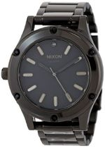 Nixon Women 's Camden Watch One Size All Black/Black Cryst