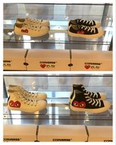 COMME des GARCONS(コムデギャルソン) スニーカー 【国内即発】PLAY Converse Chuck Taylor All Star '70 Low/Hi