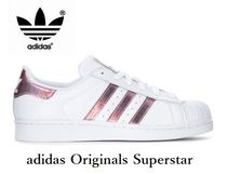 ☆新カラー☆大人OK!adidas Originals Superstar Clear Orange