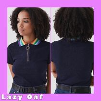 ★LAZYOAF Sparkly Polo トップス★【関税送料込】