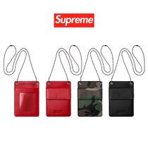 FW18 Supreme Leather ID Holder Wallet  カードホルダー ケース