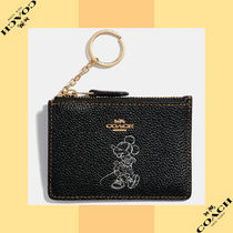 Coach コーチ Boxed Minnie Mouse Mini Skinny ID ケース