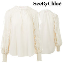 【Last one】SEE BY CHLOE' polyester blouse