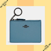 Coach コーチ Mini Skinny Id Case レザー ID ケース