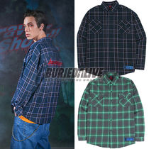 BURIED ALIVE(べリードアライブ) シャツ 116. チェックシャツ BA SPRINT CHECK SHIRTS BLUE / GREEN