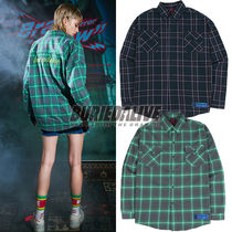 BURIED ALIVE(べリードアライブ) ブラウス・シャツ 216. チェックシャツ BA SPRINT CHECK SHIRTS BLUE / GREEN