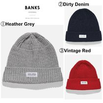 【Banks】☆18-19AW☆日本未入荷☆MADE FOR BEANIE