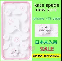 SALE★kate spade ビジューSwinging Floral iPhone7/8★国内発