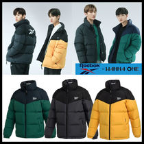 リバーシブル{{Reebok}} COVERNAT VECTOR DOWN JACKET★男女兼用