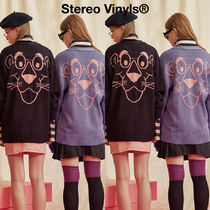 STEREO VINYLS COLLECTION(ステレオビニールズコレクション) カーディガン ★STEREO VINYLS COLLECTION★ PP Knit Cardigan