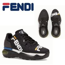 追跡有り配送!FILA x Fendi  Low-Top Sneakers  Black