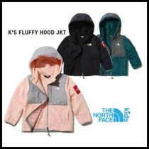 ◆THE NORTH FACE◆ K'S FLUFFY HOOD JKT  3色