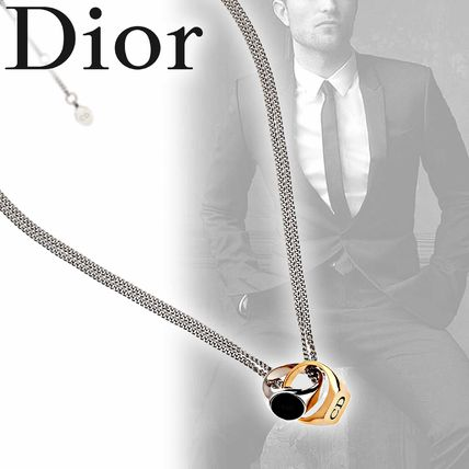 uk availability ace6e 67048 DIOR HOMME ディオールオム ネックレス リングモチーフ チェーン