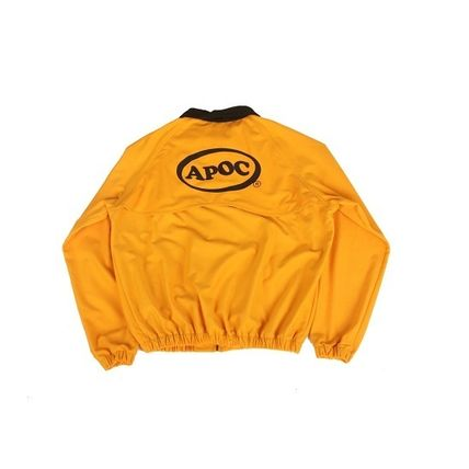 A PIECE OF CAKE ブルゾン 【正規品・送料無料】A PIECE OF CAKE Oval Logo Blouson_yellow(2)