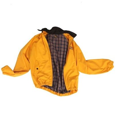 A PIECE OF CAKE ブルゾン 【正規品・送料無料】A PIECE OF CAKE Oval Logo Blouson_yellow(3)
