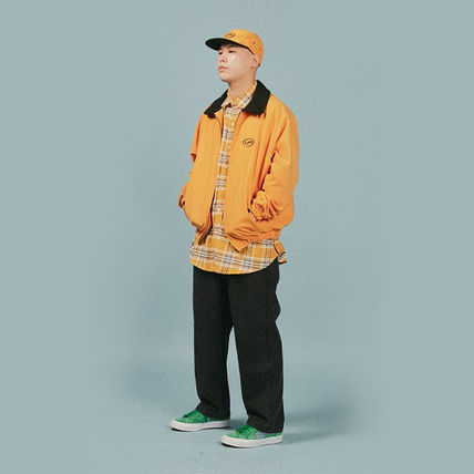A PIECE OF CAKE ブルゾン 【正規品・送料無料】A PIECE OF CAKE Oval Logo Blouson_yellow(4)