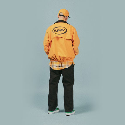 A PIECE OF CAKE ブルゾン 【正規品・送料無料】A PIECE OF CAKE Oval Logo Blouson_yellow(5)