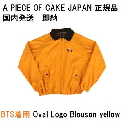 【正規品・送料無料】A PIECE OF CAKE Oval Logo Blouson_yellow