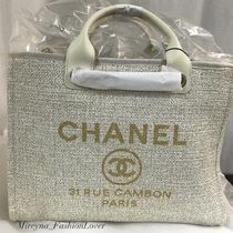 2019 RESORT店頭入荷★CHANEL★Deauville tote in IVORY