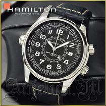 送料関税追跡込/Hamilton Khaki Navy UTC Watch H77505433