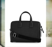 数量限定 LOEWE ロエベ Goya Thin Briefcase Black