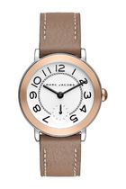 MJ1603 Women's Riley Leather Strap Watch 36mm