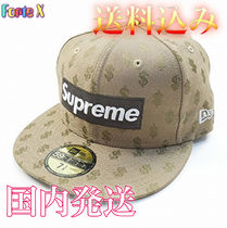 Supreme 18SS Monogram Box Logo New Era Cap ニューエラ