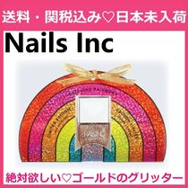 限定 NAILSINC Catching Rainbows Nail Polish Gift ゴールド