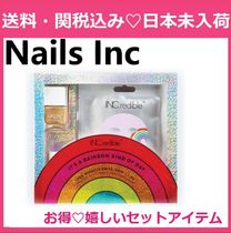 NailsInc A Rainbow Kind Of Day Nail, Skin & Lip Gift Set