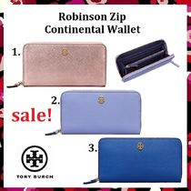セール 今季新色Tory Burch Robinson Zip Continental Wallet