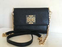 Tory Burch BRITTEN CHAIN WALLET CROSSBODY  即発送 セール!!