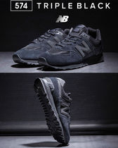 New Balance☆人気の新作 UNISEX TRIPLE BLACK SHOES_ML574ETE