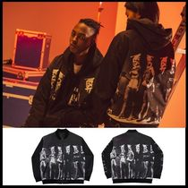 I AM NOT A HUMAN BEING(ヒューマンビーイング) ジャケットその他 ☆I AM NOT A HUMAN BEING☆ PLASTIC FACE BLOUSON JACKET