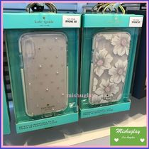 【kate spade】日本未入荷★華やか♪ iPhone XR case★クリア