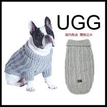 UGG(アグ) 洋服 安心国内発送★UGG Pet Cable Knit Sweater in Grey