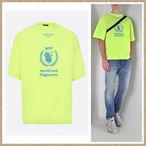 新作【BALENCIAGA】World Food Programme Tシャツ NEON  YELLOW