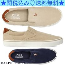 ★Polo Ralph Lauren★Thompson Corduroyスリッポンスニーカー★